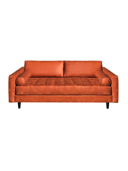 """Picture of Angela 88"""" Fabric Sofa"""