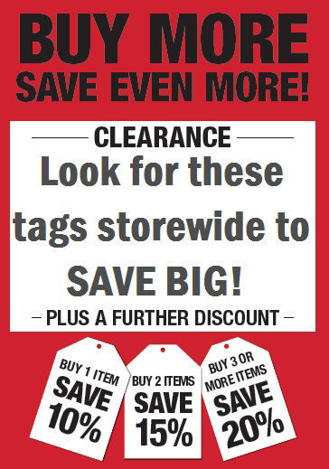 Save More on Clearance!