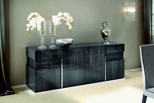 Picture of Monte Carlo Koto High Gloss 4 Door Buffet