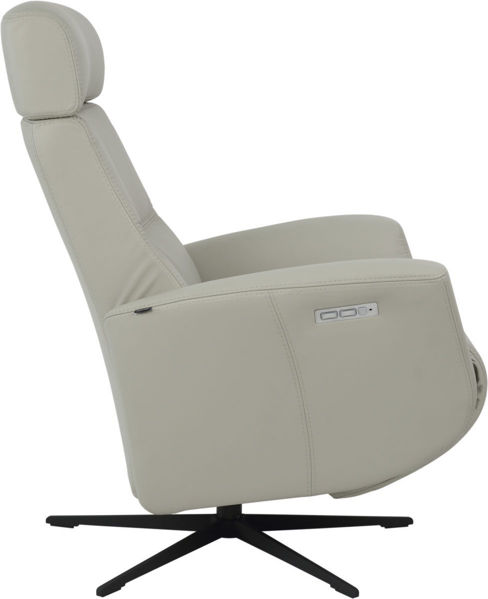 Picture of Large Grey Magnus Modern Recliner Collection