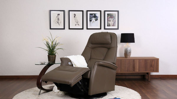 Picture of Large Brown Stockholm Relax Chair