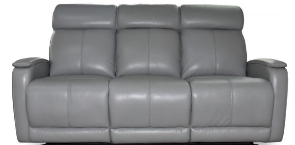Picture of Leather Sofa with Double Power