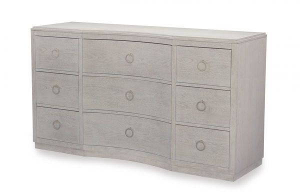 Picture of Cinema by Rachael Ray Shadow Grey Finish Dresser