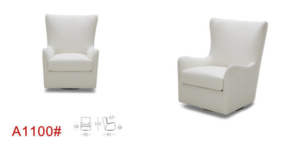 Picture of Charcole Fabric Occasional Chair