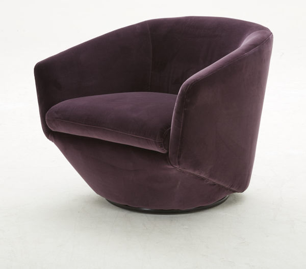 Picture of Rose Fabric Occasional Chair