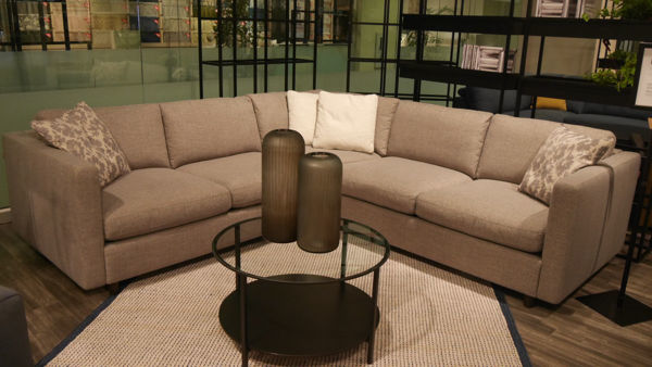 Picture of Grey Fabric Sectional