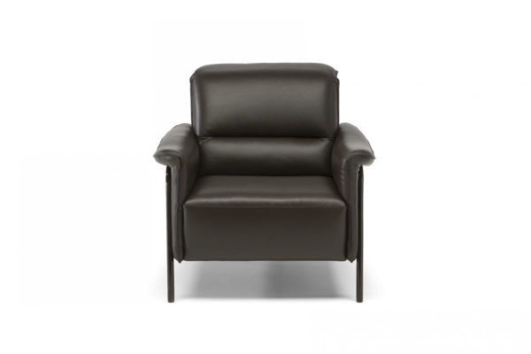 Picture of Natuzzi Editions C110 Amabile Burgandy Velvet Chair