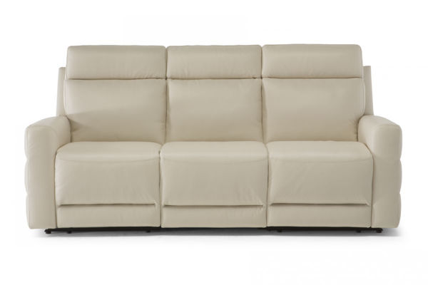 Picture of Natuzzi Editions C121 Benevolo White 2 Power Sofa