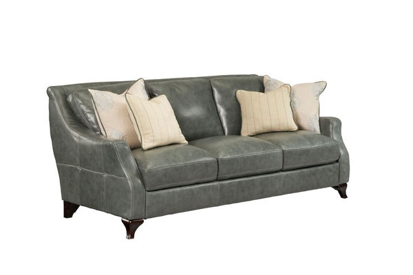 Picture of Transitional Leather Sofa
