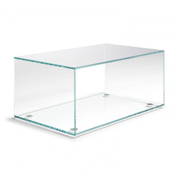 Picture of Natuzzi Italia Armonica Glass Occasional Table