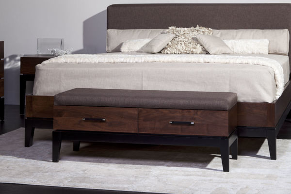 Picture of Definity Bedroom Bench