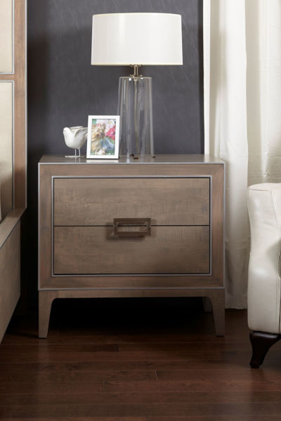 Picture of Luxe 2 Drawer Nightstand