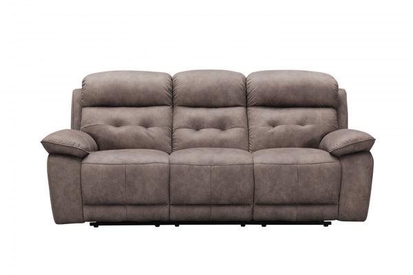 Picture of Pecan Fabric Sofa