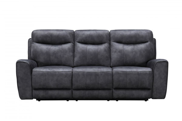 Picture of Gunmetal Fabric Sofa