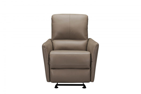 Picture of Grey Leather Recliner
