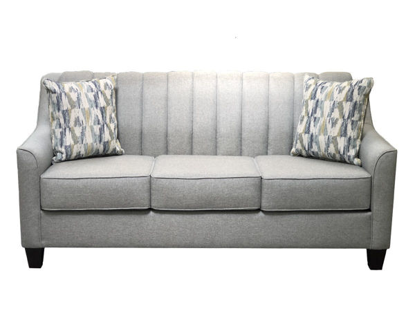 Picture of Chanel Straight Chalk Upholstered Sofa