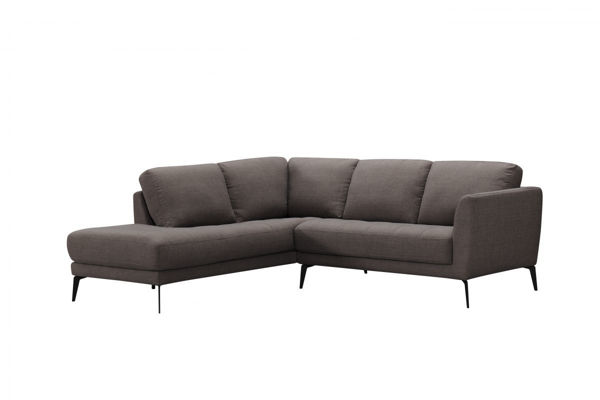 Picture of Praline Fabric Sectional, Right Arm Sofa