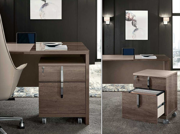 Picture of Matera Office File Cabinet with Wheels