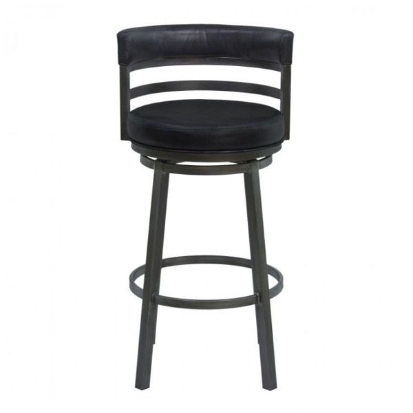 """Picture of Madrid 26"""" Stool, Black"""