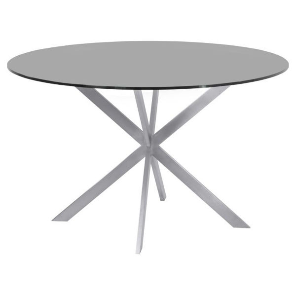 Picture of Mystare Glass Top Dining Table