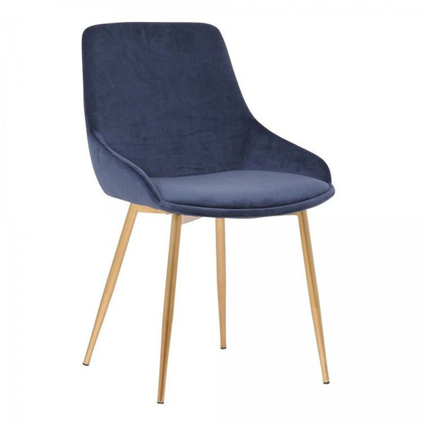 Picture of Heidi Dining Chair, Blue