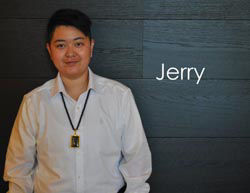 Sandy's Sales Associate: Jerry
