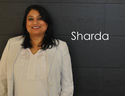 Sandy's Sales Associate: Sharda